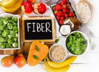 Fiber rich foods like fruits and vegetables are an important part of your child's diet.