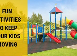 Fitness games are a great way to help your kids have fun while being active!