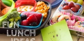 Keeping lunches fun for kids helps them look forward to lunch every day!