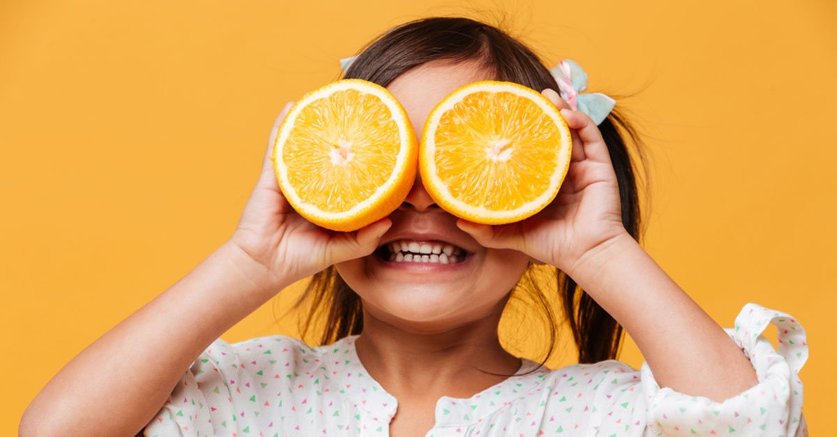 Fruit is a sweet and tasty healthy snack for kids on the go.