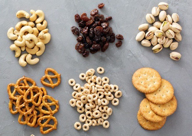 Make sure to portion your kids snacks to keep them healthy and to prevent over eating.