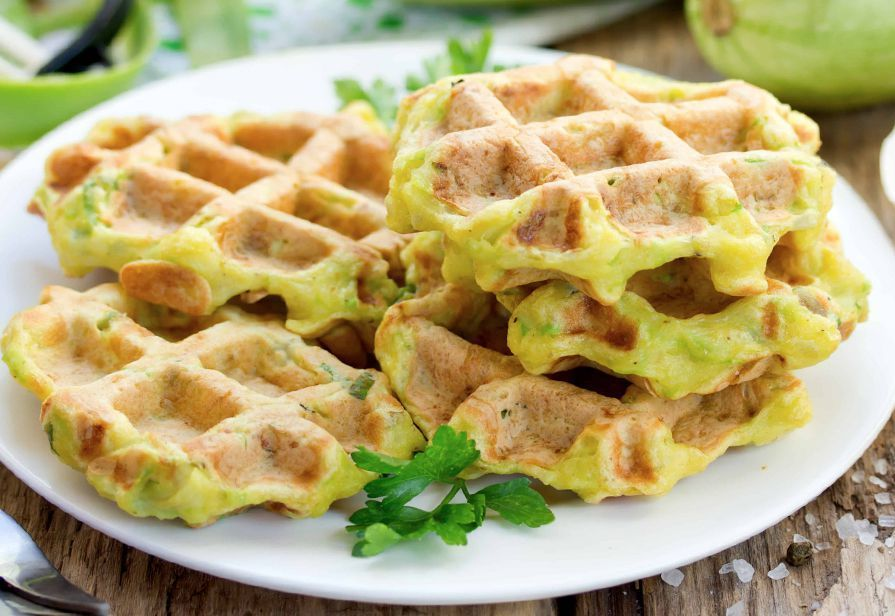 Dinner Ideas for Picky Eaters- Savory Waffles!