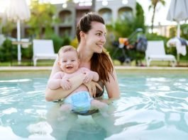 Unsure of how swim diapers work? Read further for information on whether or not they actually hold urine!