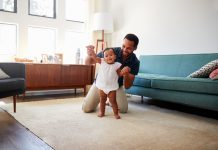 Purchasing toys to help babies learn how to walk might not be as helpful as we think.