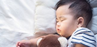 babies can sleep with a lovey after they turn one to reduce the risk of SIDS.