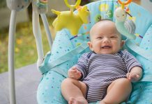Babies can happily use swings for several months after they are born.