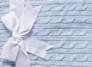 baby blankets can be different sizes for different reasons.