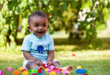 Having outdoor toys for your one year old is a great idea for outside play